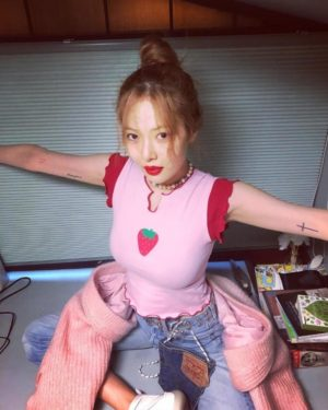 Strawberry Pink Top | Hyuna
