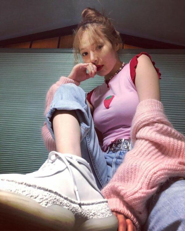 Strawberry Pink Top | Hyuna