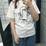 Cute Ghost Cartoon T-Shirt | J-Hope – BTS