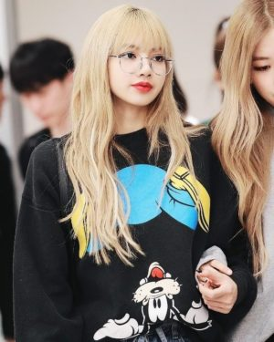 Cartoon Sweater | Lisa – BlackPink