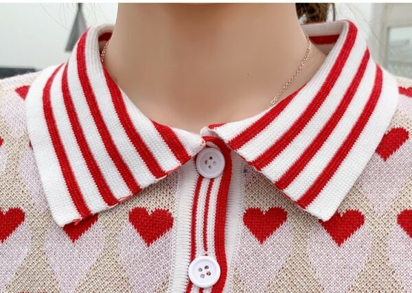 Hearts and Stripes Top With Skirt | Lisa – BlackPink