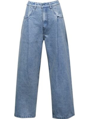 Rose Light Blue Wide Leg Pants (4)