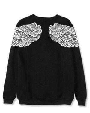 Taehyung Black Wings Sweater