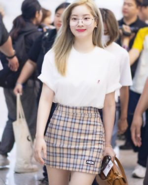 Plaid Skirt | Dahyun – Twice