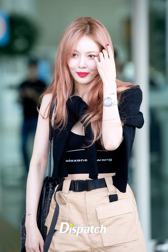 Pocket Shorts | Hyuna