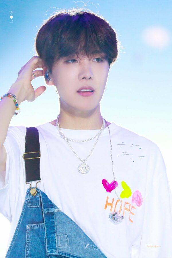 J-Hope Own Design Graffiti T-Shirt   J-Hope – BTS