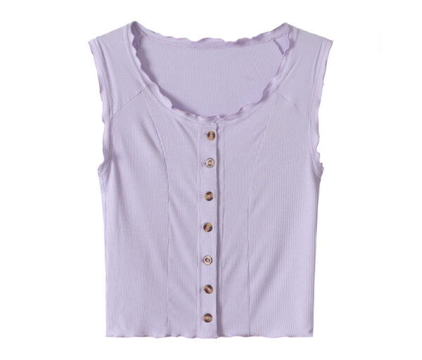 Lilac Sleeveless Top | Jennie – BlackPink
