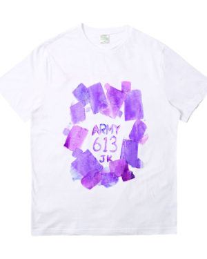 Jungkook Own Design Graffiti T-Shirt (1)