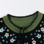 Floral Embroidered Green Sweater | Nayeon – Twice
