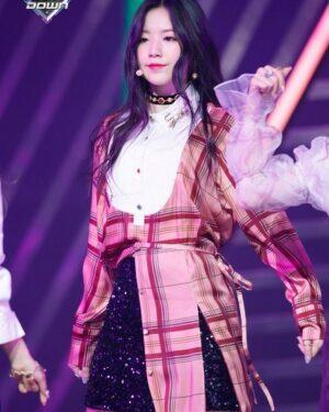 Pink Plaid Shirt Dress | Shuhua – (G)I-DLE