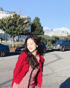 Red Jacket | Jisoo – BlackPink