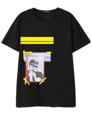 Johnny Framed Eye Covered Man T-Shirt (3)
