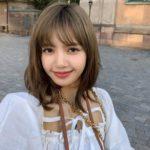 Square Collar Ribbon Stretch Blouse | Lisa – BlackPink