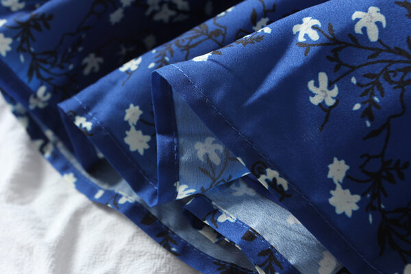 Flower Print Blue Dress   Mina – Twice