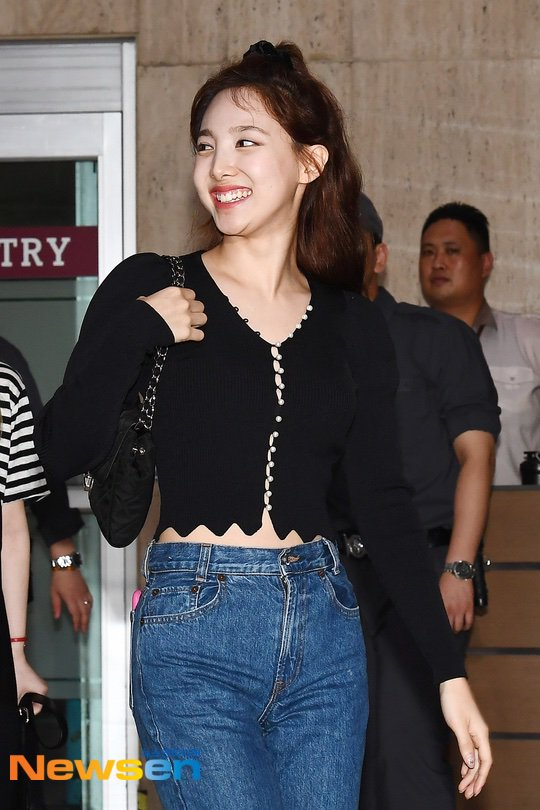 Black Pearl Buttons Cardigan | Nayeon – Twice
