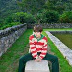 Long Sleeved Striped Shirt   Taehyung  -BTS