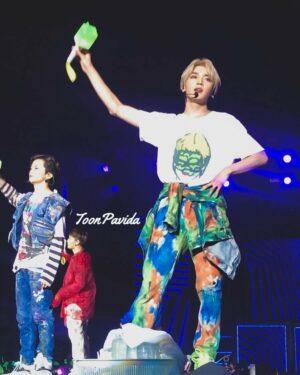 Blonde Eye Covered Monster Girl T-Shirt | Taeyong – NCT