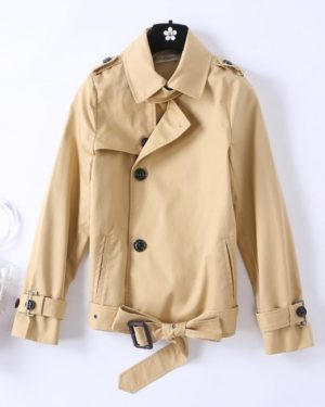 Jennie Khaki Autumn Jacket (8)