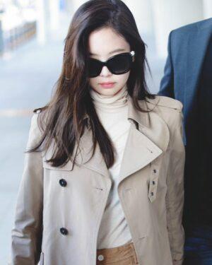 Khaki Autumn Jacket | Jennie – BlackPink