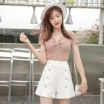 Side Buttons Shorts | Yuna -ITZY