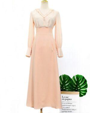 IU Decent Ruffled Blouse & A-Lined Skirt (2)