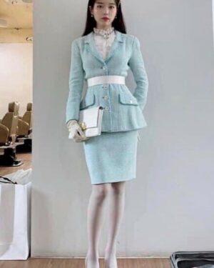 Pastel Blue Skirt   IU – Hotel Del Luna