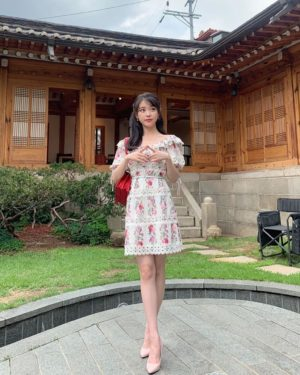 Ruffled Flower Dress | IU – Hotel Del Luna