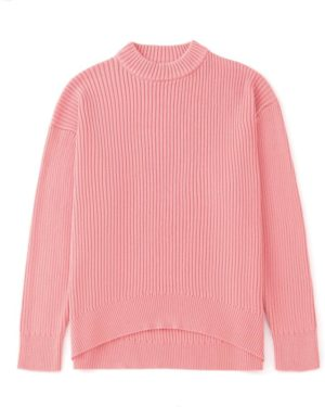 Lisa Pink Knitted Sweater (6)