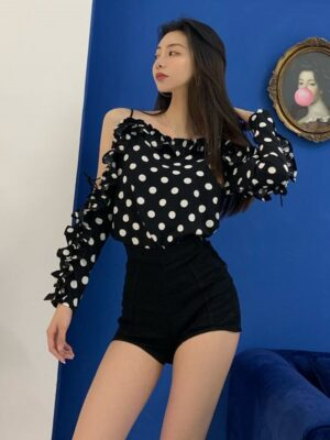 Jennie High Waist Fit Shorts (4)