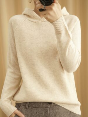 Irene Hooded Knit Sweater (1)