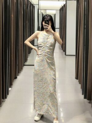Hyuna Floral Sleeveless Long Dress (12)