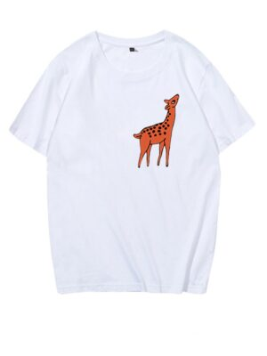 Deer Printed T-Shirt Jimin – BTS (1) – Copy