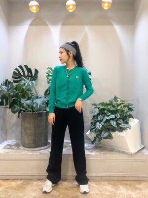 Jennie Fox Green Knit Cardigan (7)