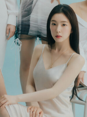 White Silk Dress   Irene – Red Velvet