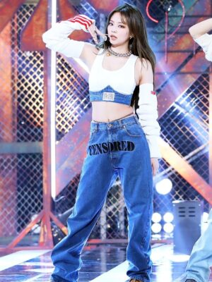"""Censored"" Denim Jeans 