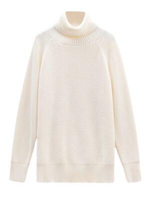 Jennie – BlackPink Knitted Turtle Neck Sweater (6)