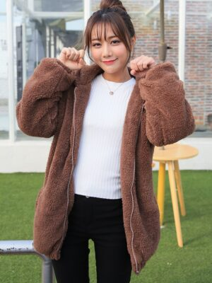 Kai – EXO Cute Bear Hooded Jacket (10)