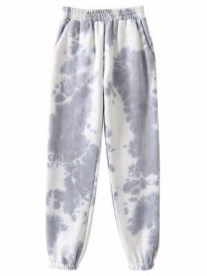 Lia – ITZY Grey Tie-Dye Pants (12)