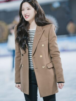 Khaki Suit Jacket | Lim Joo Kyung – True Beauty