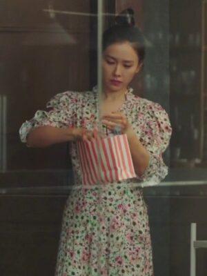 Floral Wrap Dress | Yoon Se Ri – Crash Landing On You
