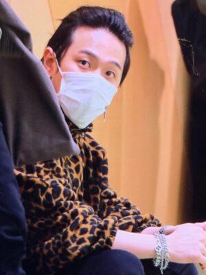 Stand-Up Collar Leopard Jacket | Donghyuk – iKON
