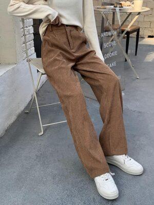 J-Hope – BTS Brown Corduroy Pants (15)