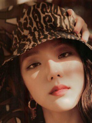 Leopard Print Bucket Hat | Jisoo – BlackPink