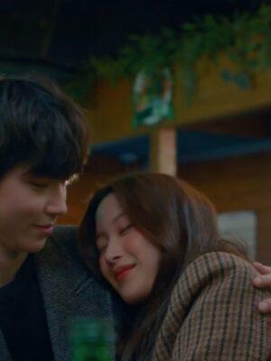 Brown Plaid Suit Jacket | Lim Joo Kyung – True Beauty
