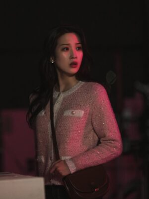 Classic Brown Crossbody Bag | Lim Joo Kyung – True Beauty