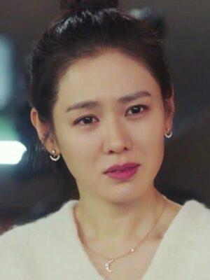 Moon Shaped Crystal Earrings | Yoon Se Ri – Crash Landing On You