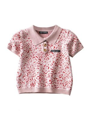 Yuna – ITZY Leopard Print Polo Knit Top (12)