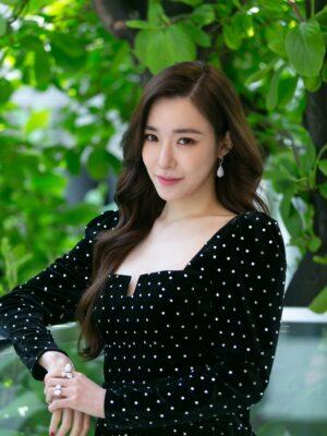Black Velvet Mini Dress | Tiffany – Girls Generation