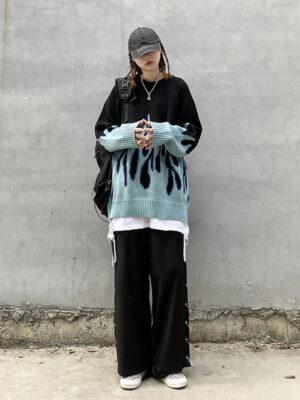 Blue Flame Sweater Karina – Aespa 3