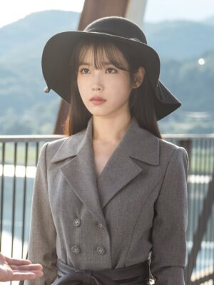 Grey Suit Jacket | IU – Hotel Del Luna